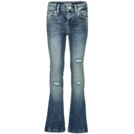 LTB meisjes Fallon flare spijkerbroek blauw