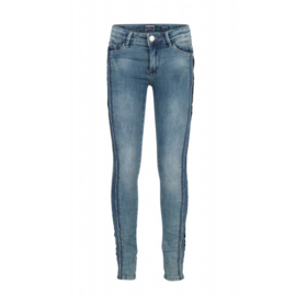 Indian Blue Jeans meisjes skinny fit spijkerbroek used medium denim