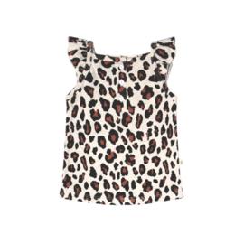Your Wishes meisjes topje leopard