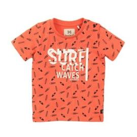 Koko noko jongens tshirt oranje print