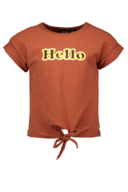 Like Flo t-shirt cognac 5471
