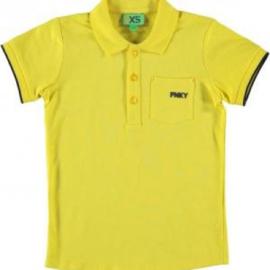 Funky XS Boys polo shirt geel