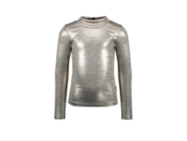 B-nosy Girls long sleeve col champagne