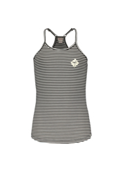 Street called Madison singlet Hawai navy gestreept