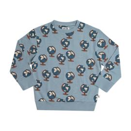 CarlijnQ jongens sweater lichtblauw