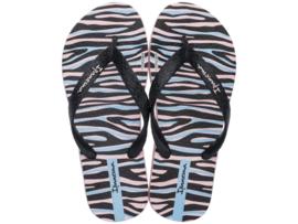 Ipanema Temas kids meisjes slippers roze/zwart