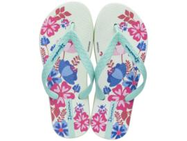 Ipanema classic kids meisjes slippers groen/roze