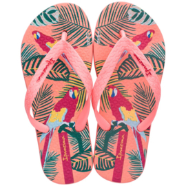 Ipanema classic kids slippers koraal tropical