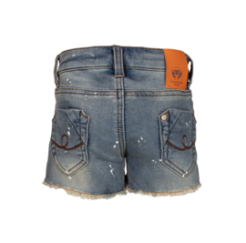 Dutch Dream Denim meisjes Wiki shorts spetters