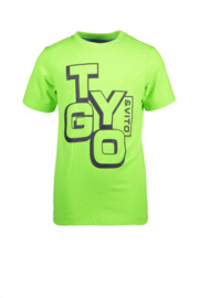 Tygo&Vito Boys tshirt neon groen