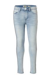 Indian Blue Jeans meisjes high waist skinny fit spijkerbroek light denim