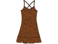 Br@nd meisjes jurkje bruin panter