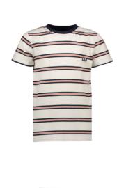 sevenoneseven tshirt gestreept wit