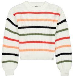 Garcia Girls pullover wit strepen