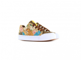Go Banana meisjes sneakers luipaard