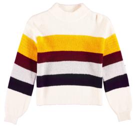 Garcia Girls knit trui gestreept