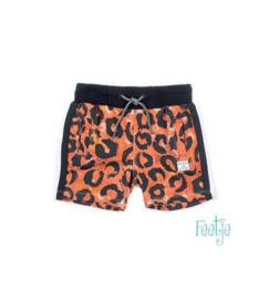 feetje jongens korte broek oranje print