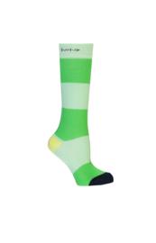 Nono Rae kousen colorblock groen