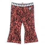 Feetje meisjes flare broek zebra