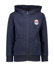 sevenoneseven vest met capuchon navy