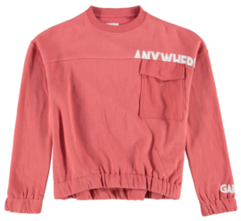 Garcia Girls sweater rose cedar