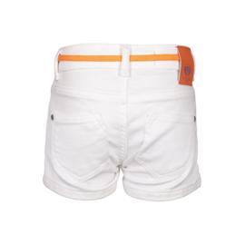 Dutch Dream Denim meisjes Joto shorts wit