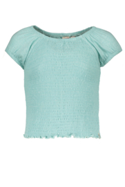 Street called Madison smock top Cindy mint