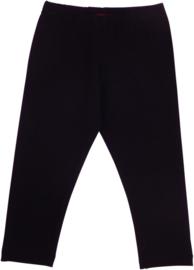 Lovestation22 meisjes 3/4 zwarte legging