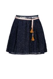 Nono Nadja rok tule logo tailleband navy