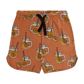 CarlijnQ meisjes korte broek limonade roest