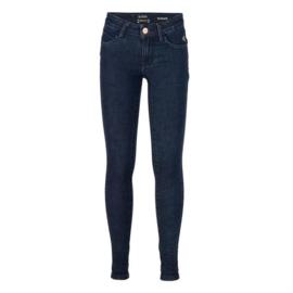 Indian Blue Jeans meisjes skinny fit spijkerbroek donkerblauw