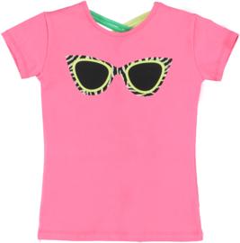 O'chill t-shirt Violet shirt pink bril