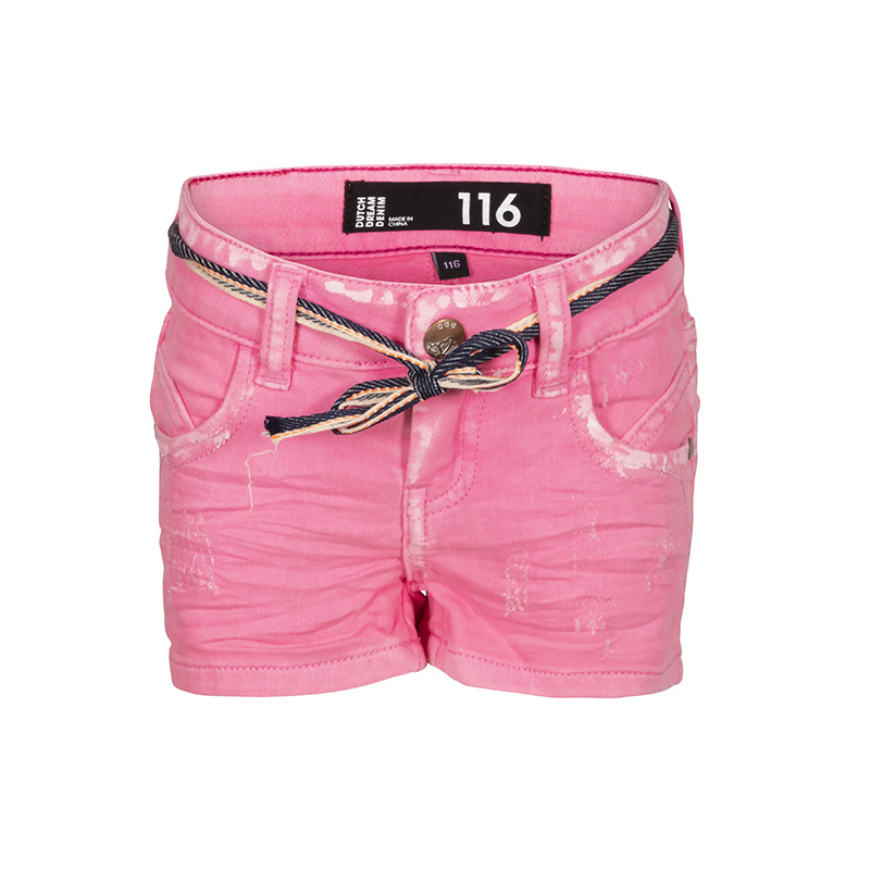 Dutch Dream Denim meisjes Jua shorts pink