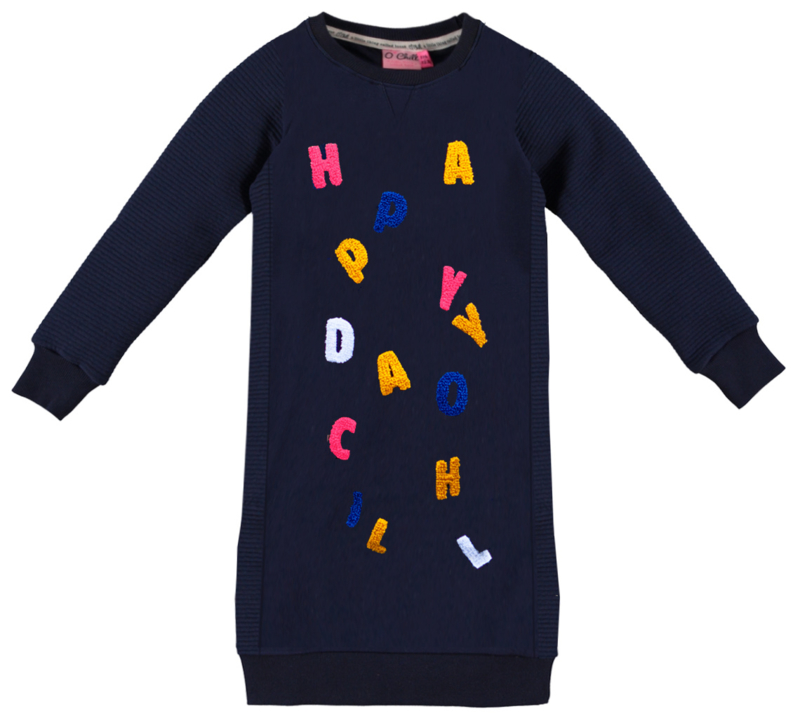 O'chill jurk navy letters Frederique