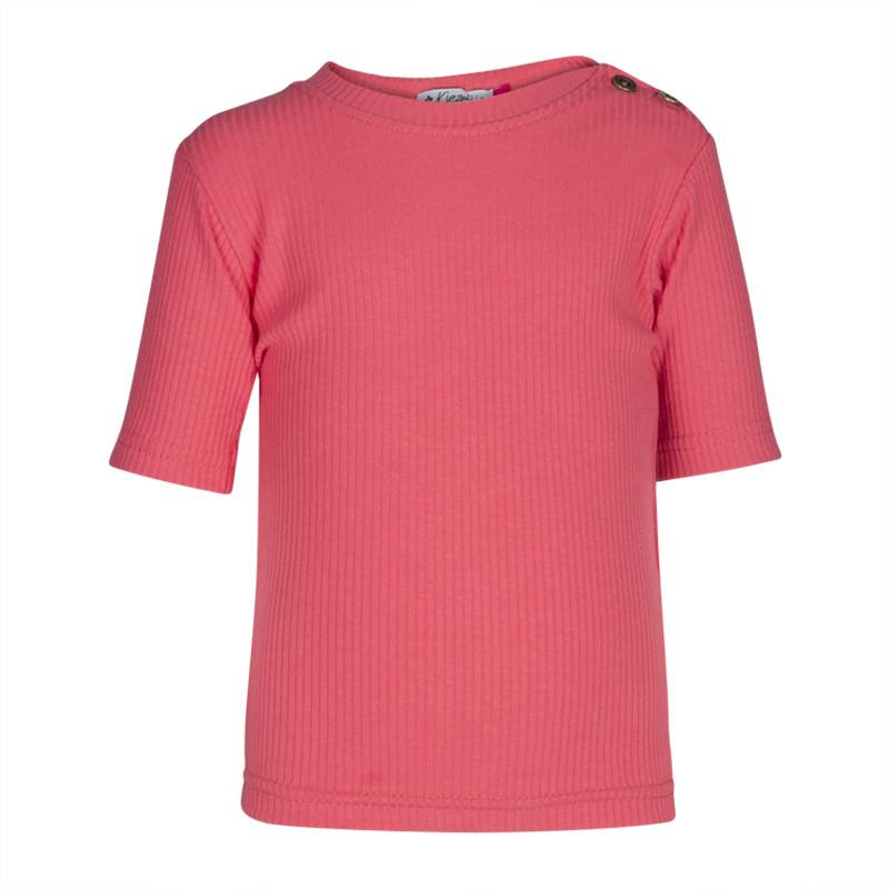 Kiezeltje shirt framboos roze