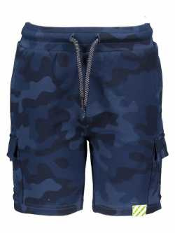 B-nosy jongens korte broek navy legerprint