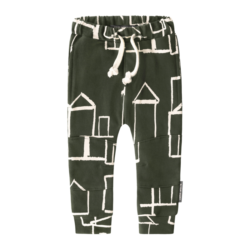 Your Wishes joggingbroek army green