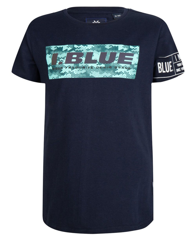 Indian Blue Jeans jongens tshirt navy