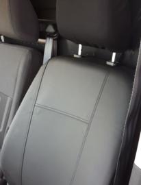 Maatwerk Autostoelhoes 2 x voorstoel  Fiat TALENTO  (1+1)  KUNSTLEER Bouwjaar 2014-heden