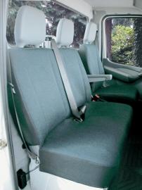 Maatwerk Ford Transit Autohoes Voorstoel + bank (2+1) STOF Art.nr. 10475