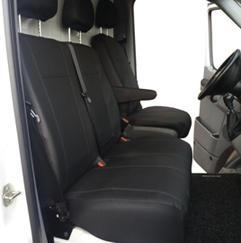 Maatwerk VW T6 Stoel  + Bank  (2+1)  KUNSTLEER 2015>
