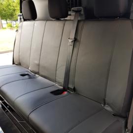 Maatwerk Ford Transit CUSTOM Achterbank (dubbele cabine) KUNSTLEER