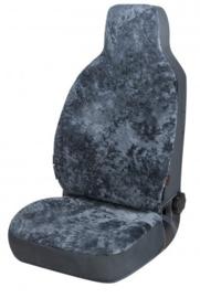 Autostoelhoes 1st. Schapenvacht Highback Antraciet  Art. W20024