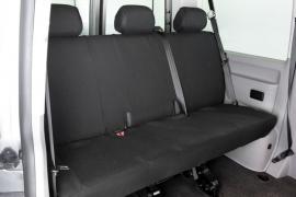 Maatwerk VW T6 3 pers. achterbank STOF