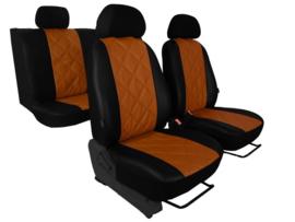 Maatwerk Volvo  FORCED - Complete stoelhoesset - KUNSTLEER