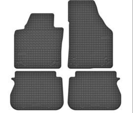 VW Caddy rubber matten 2003>