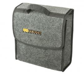Kofferbaktas maat S met klittenband  Art. nr 30103