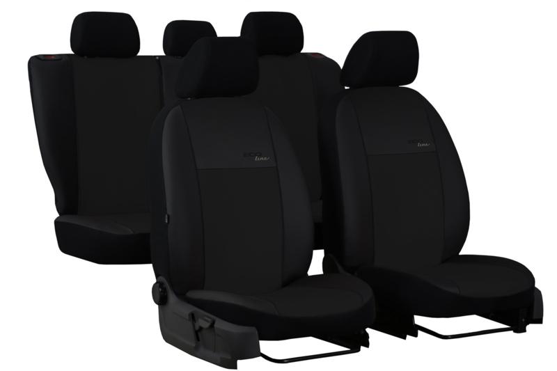 Maatwerk Land Rover  ECO Line - Complete stoelhoesset - KUNSTLEER