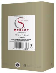 Cote Soleil Merlot- 10 liter Bag in Box