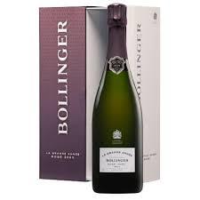 Bollinger La Grande Anee Brut Rose in luxe geschenkdoos